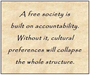 A free society